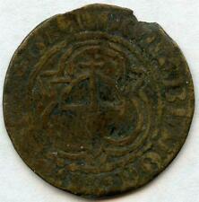 1585-1632 Nuremberg Germany Hans Krauwinckel Jeton Coin Token Rose Orb