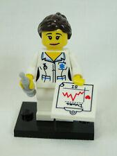 Lego 3 Neu Krankenschwester Arzt Krankenhaus Minifigur mit Sekretär Health Care