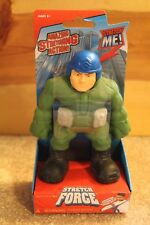 STRETCH FORCE Army Man Green Military Guy MAGIC TIME Like Armstrong Fun Pull Toy