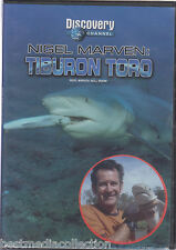 Nigel Marven Tiburon Toro ( Bull Shark ) DVD NEW Discovery Channel BRAND NEW