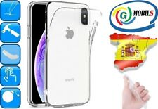 "FUNDA GEL TRANSPARENTE CARCASA FLEXIBLE PARA APPLE IPHONE XS MAX ""6.5"" 1mm"