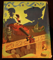PINOCCHIO Big Golden Book 1966 Artist Al Dempster Walt Disney Studio Illustrator