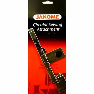 Janome Circular Sewing Attachment #20210700 Fits Many Janome Models