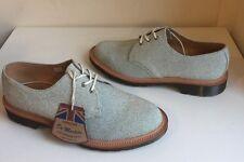 Bnwt! Sz8 angleterre Dr. Martens 1461 Classics paillettes blanc zucchero chaussures Eu42