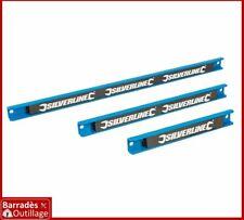 Lot de 3 Barres magnétiques pour stockage outils - Longueur: 200, 300 et 460 mm