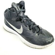 Nike Lunarlon Mens Size 7 Basketball Hyperquick Tennis Shoes High Top Black