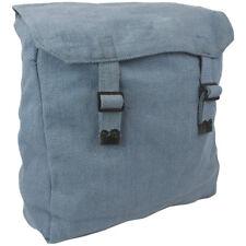 Highlander Large Web Backpack Camping Cotton Canvas Rucksack Cadet Bag Raf Blue