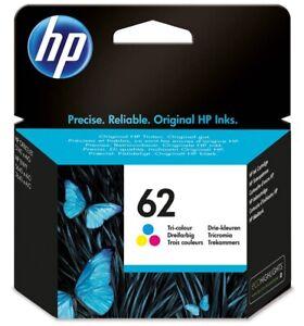 Original HP 62 Tri Colour C2P06A Druckerpatrone  Deskjet 3910, 3920, 3940, 3950