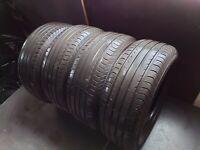 4x VREDESTEIN ULTRAC SATIN 225/55 R16 99Y XL bis 300 km/h 5-6mm Sommerreifen