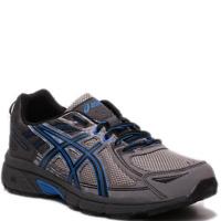 Men Asics GEL-VENTURE 6 (4E) T7G3N/9690 Aluminum/Blk/Blue Lace-Up Running Shoes