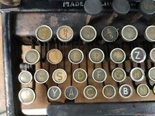 SPECIAL COLLECTIBLE TYPEWRITER REMINGTON 10 - NO RISK WITH SHIPPING
