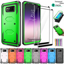 For Samsung Galaxy S9/S7/S8/S10/S20 Plus 5G Full Body Hard Case+Screen Protector