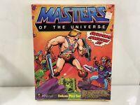 Sealed Vintage 1983 HeMan Masters Of The Universe MOTU Colorforms Adventure Set