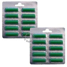 20 x bastoncini profumo verde > estate prato < per tutti aspirapolvere/VORWERK/AEG (6016)