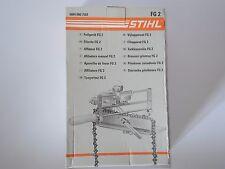 7501 Stihl Feilgerät FG2 für Tischbefestigung Präzisionsfeilgerät