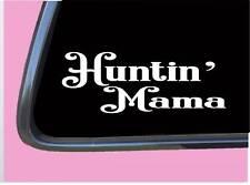 "Huntin Mama TP039 vinyl 8"" Decal Sticker hunting camo"