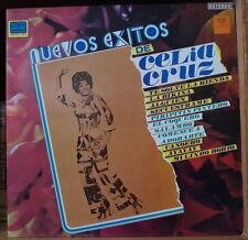 CELIA CRUZ NUEVOS EXITOS DE RE-ISSUE FRENCH LP SONODISC1980's