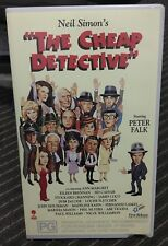 The Cheap Detective VHS TAPE (1978 Peter Faulk comedy movie) * rare *