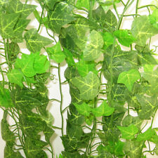 Creeper Leaf Flowers Plastic Artificial Vine Wall Garden Decor  Hanging Flower