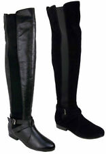Over Knee Boots Wide (C, D, W) Pull On Shoes for Women