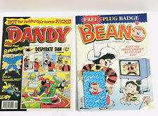 Vintage Beano no2955 And Dandy no2989 Comics 6th March 1999 In Great Condition