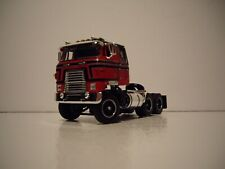 DCP FIRST GEAR 1/64 RED AND BLACK INTERNATIONAL TRANSTAR COE