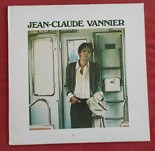 JEAN CLAUDE VANNIER  LP ORIG FR