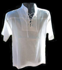 BNWTpirate shirt,white color,s/s..Size S