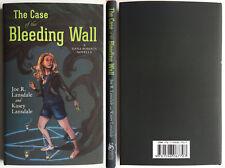 The Case of the Bleeding Wall Joe R Lansdale Subterranean Press sgnd ltd mystery