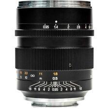 Mitakon Zhongyi Speedmaster 50mm f/0.95 III Lens for Nikon Z (Black)