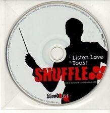 (DG111) Shuffle, Listen Love / Toast - 2007 DJ CD