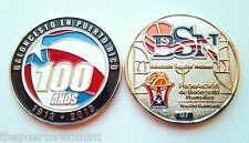 100 años BALONCESTO SUPERIOR NACIONAL Basketball League PUERTO RICO 1913 - 2013