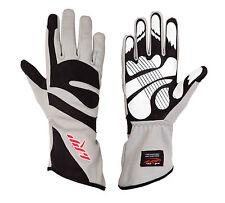 LRP Kart Racing Gloves- Freedom Gloves Black/Gray