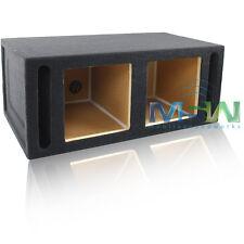 "DUAL PORTED 10"" KICKER® Solo-Baric L3 L5 L7 SQUARE MDF SUB WOOFER BOX ENCLOSURE"