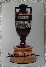 "DARREN LEHMANN CRICKET SIGNED IN PERSON 10 x 15cm PHOTO COA ""BUY GENUINE"" ASHES"