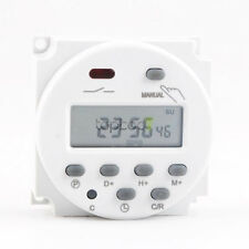 DC 12V 16A Digital Electronic LCD Time Relay Switch Programmable Timer Fast USA