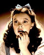 "JUDY GARLAND WIZARD OF OZ 1939 HOLLYWOOD ACTRESS 8x10"" HAND COLOR TINTED PHOTO"