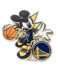Disney Pin Mickey NBA Experience Basketball Uniform San Golden State Warriors