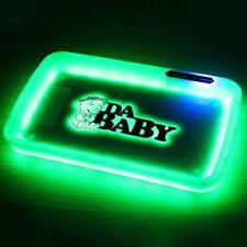 DaBaby Rolling Glow Tray Da Baby Rapper HIp Hop Cookies Runtz Supreme Raw