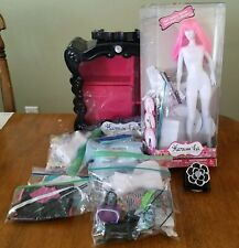 Bandai Harumika Dress Clothing Fashion Design Mannequin Accessories Fabric Lot