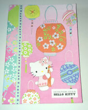 A5 HELLO KITTY LUXURY NOTEBOOK Designers Guild PATCHWORK Japanese Lantern FABRIC