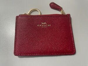 COACH Red COIN/CARD  Purse