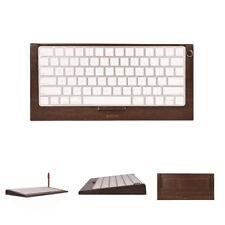 SAMDI Bamboo Stand Dock Holder for Apple PC iMac Bracket Dock Keyboard 2 Magic