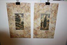 "James Nocito ""Eucalyptus Grove & Italian Cypress "" 20x12 Wall Art Poster Print"