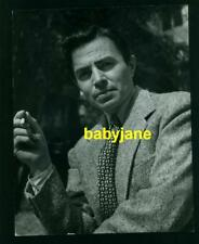 JAMES MASON VINTAGE 7X9 PHOTO 1949 HANDSOME PORTRAIT DOUBLE WEIGHT