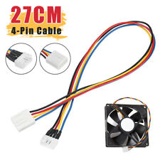 27CM Computer 4-pin PWM Fan Connector Female to 4-pin GPU Fan Connector Male New