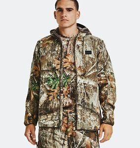 Under Armour Realtree Edge Mid Season Kit Brow Tine Camo Jacket Mens (Size XL)
