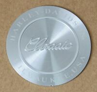 Harley original classic Milwaukee Emblem EVO Bremssattel Caliper Trim Insert
