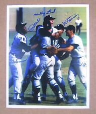 1968 World Series Detroit Tigers Game 7 on-field celebration 11 x 14 photo