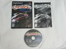 Need for Speed Carbon Playstation 2 Game COMPLETE PS2 NFS US NTSC - Nice Disc